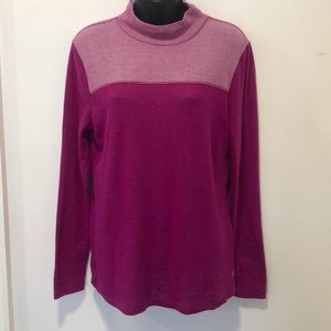 T by Talbots Long Sleeve Athletic Top M